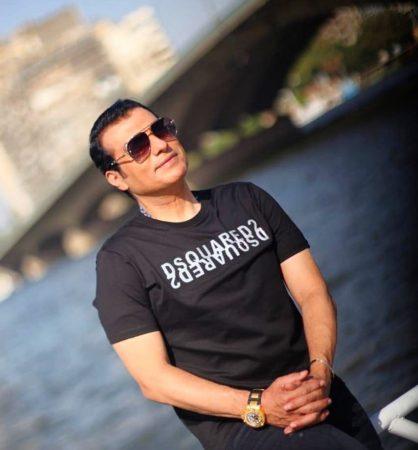 صورة النجم ايهاب توفيق يحتفل بعيده ميلاده في امريكا