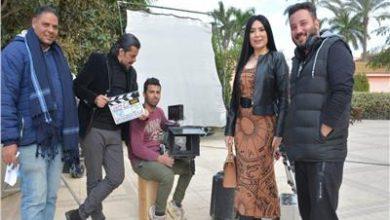 صورة صور من كواليس فيلم ال هارون مع المنتج حسني محمود