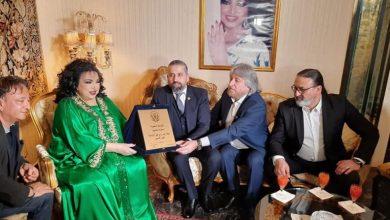 صورة سميرة توفيق رئيسة شرفية لنقابة محترفي الموسيقي والغناء بلبنان