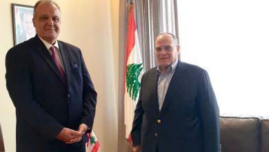 """صورة الوزير بوشكيان:"""" إبداع صادق الصباح يعطي الفن اللبناني والعربي قيمة ثقافية مضافة عالية"""""""